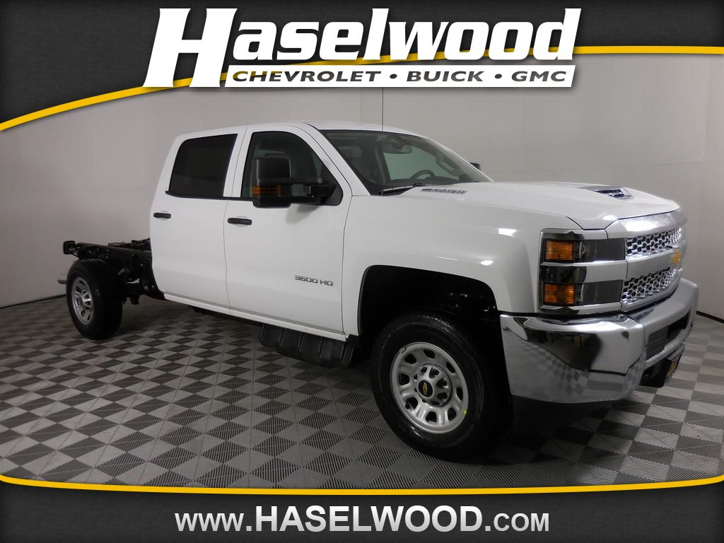 New 2019 Chevrolet Silverado 3500 Work Truck 4wd Crew Cab 167 7 In