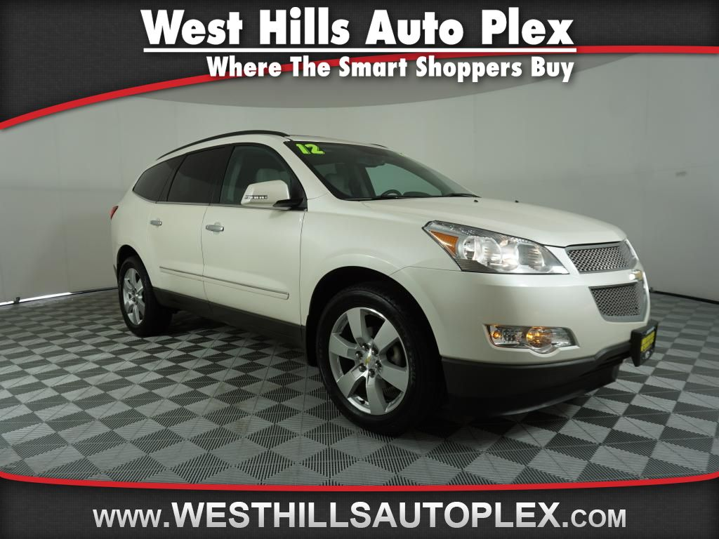 Pre owned 2012 chevrolet traverse ltz awd 4dr in bremerton ak4039a pre owned 2012 chevrolet traverse ltz publicscrutiny Gallery